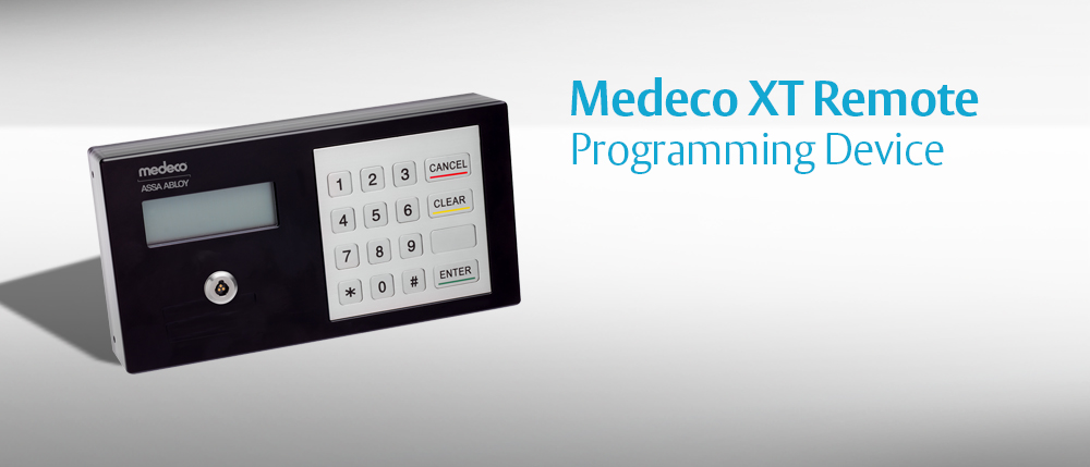 Medeco Xt Remote Programming Device
